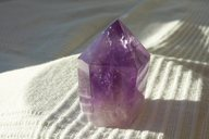 Amethyst - Spitze</br>  </br>   H: 5,0cm</br>   Art.Nr.00AS04</br>  </br>   €   19,00
